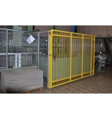Recinzione di protezione impianti industriali